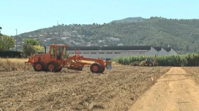 Comencen les feines per adequar els terrenys dels futurs horts socials de Cal Quico, a Montmeló
