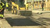Montornès millora l'estat del paviment de la carretera BV-5001