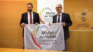 Suport institucional i econòmic del govern català a Mollet, ciutat europea de l'esport