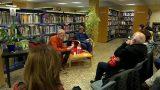 L'escriptor Alejandro Palomas visita la Biblioteca de Montornès