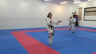 Maria López i Naiara Moreno del Club Karate Montornès s'han proclamat campiones d'Espanya