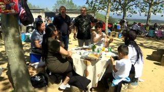 L'espai de picnic de Can Xec s'omple amb 1.500 persones
