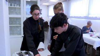 Estudiants francesos visiten l'Institut Marta Mata de Montornès