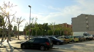 Finalitzen les obres de millora de l'aparcament de Sant Pancraç de Mollet