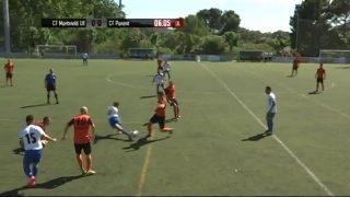 El partit: CF Montmeló UE- CF Ponent (futbol 4a. catalana)- 1a. part