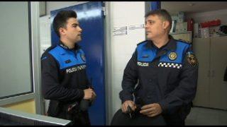 Dos agents de Vallromanes distingits per la seva actuació meritòria