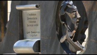 Martorelles inaugura divendres l'escultura de Ricard Mira que homenatja a Lluís Companys