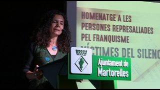 Martorelles ret homenatge als represaliats pel franquisme