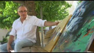 El pintor paretà Luís Navarro rep la medalla d'or del Fòrum Europa 2001