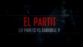 El partit: CH Parets- Hanbdol Sabadell (Lliga Catalana)- 2a. part
