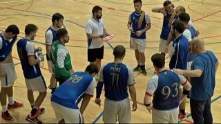 El partit: CH Parets- Hanbdol Sabadell (Lliga Catalana)- 1a. part
