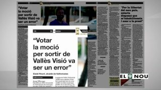 Diverses entitats de Vallromanes rebutgen sortir de Vallès Visió
