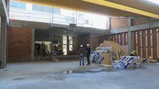 Les obres de l'escola Pau Vila marxen segons el previst