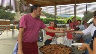 120 persones participen a l'arrossada popular de la Festa Major de Vallromanes