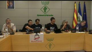 El ple de Martorelles aprova una moció contra el 155