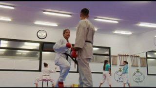 Naiara Moreno es fa amb una plata a la Lliga Nacional de Karate