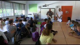 Proactiva Open Arms dóna a conèixer la seva activitat als alumnes de l'Escola Palau d'Ametlla