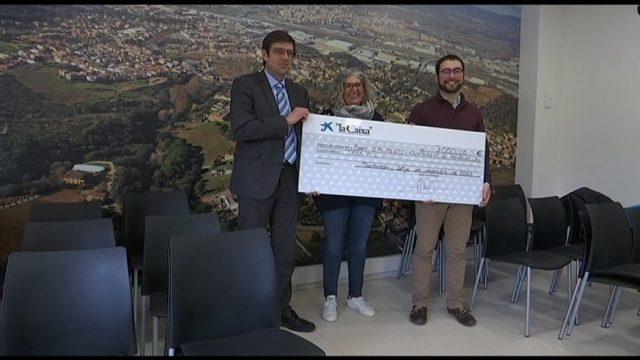 La Caixa entrega 3.000 euros a Martorelles pel Banc d'Aliments del municipi