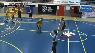 El Partit: Recanvis Gaudí Mollet- Mataró Feima – Bàsquet Lliga EBA (1a. part)