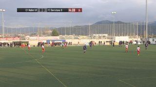 El Partit: CF Mollet UE- FC Barcelona (Lliga Juvenil Nacional) (1a. part)