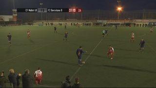 El Partit: CF Mollet UE- FC Barcelona (Lliga Juvenil Nacional) (2a. part)