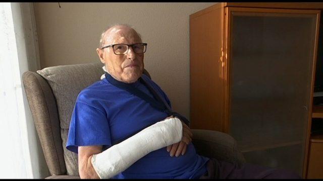 Un veí de Mollet pateix un accident al Parc de Les Pruneres