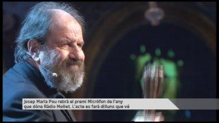 L'actor molletà Josep Maria Pou rebrà el premi Micròfon de l'any que atorga Radio Mollet