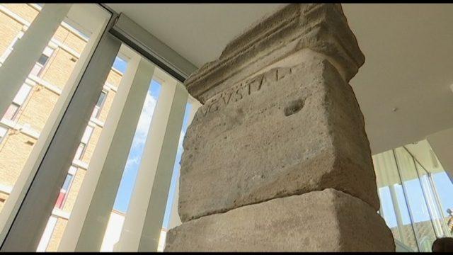 Can Saurina acull una peça única de l'època romana