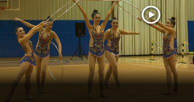 600 gimnastes participen al Trofeu Vila de Montmeló