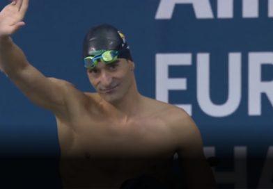 Miguel Luque frega el podi al campionat d'Europa de natació