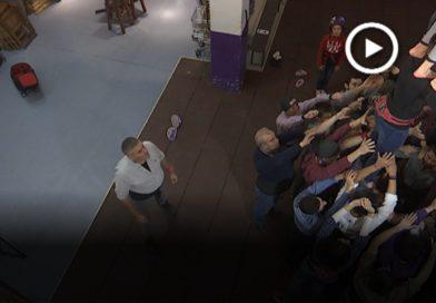 Xavier Arias s'estrena com a cap de colla dels Manyacs de Parets