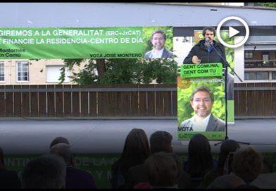 Montornès en Comú celebra l'acte central de campanya amb l'Ernest Urtasun