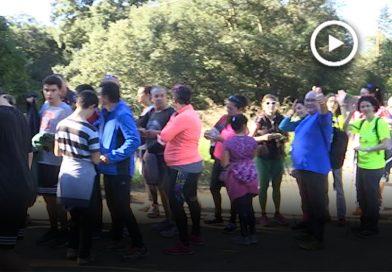 Prop de 500 persones participen en la Ruta de Les Fonts, la caminada més popular de Montmeló