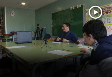 La ràdio de l'escola Can Vila celebra el primer aniversari