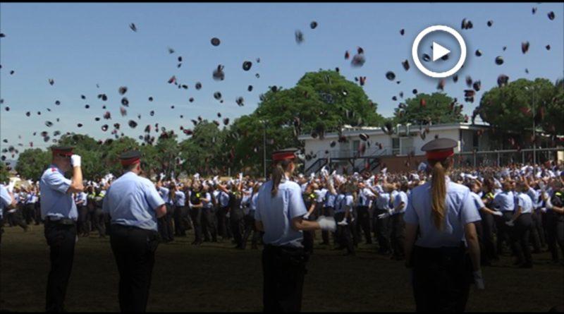 Es graduen 804 agents a l'Escola de Policia de Mollet