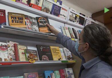 Les llibreries es preparen per a un Sant Jordi amb parades però amb restriccions