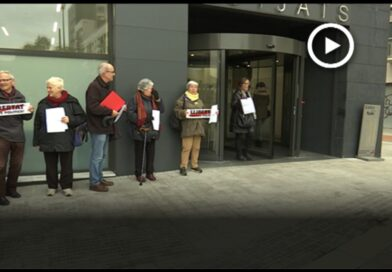 Una trentena de ciutadans acudeixen als jutjats de Mollet per autoinculpar-se