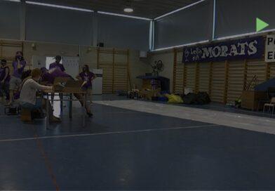 La Colla dels Morats ja prepara l'escola Can Besora per acollir les activitats per Festa Major