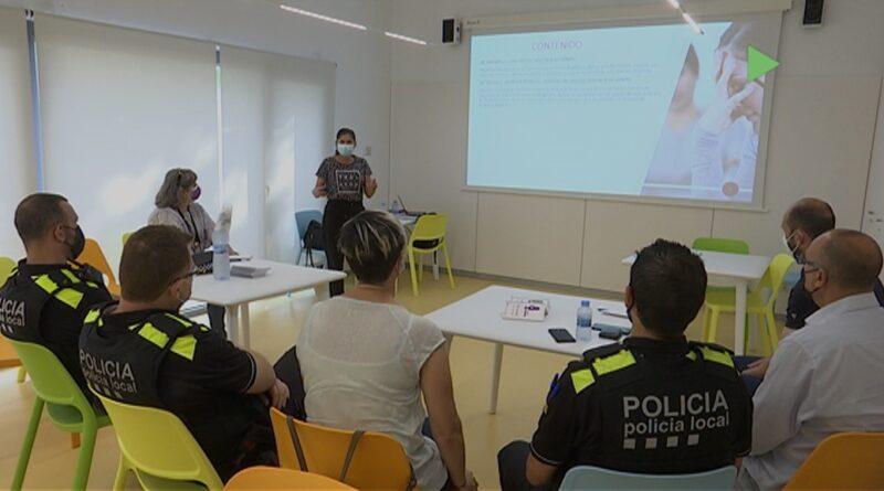 La Policia de Martorelles rep una formació específica sobre casos de violència de gènere