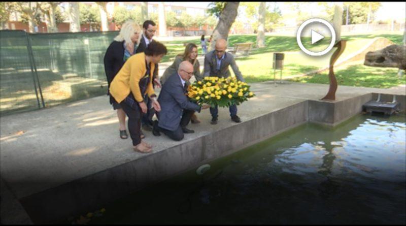 El Parc de la Linera a Parets acull el Memorial en record de les víctimes franquistes i de la Guerra Civil