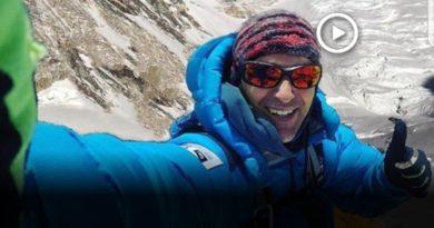 Mingote culmina el projecte 3x2x8000 amb el cim del Gasherbrum 2