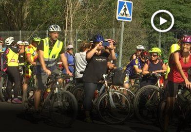 200 persones participen a la 2a pedalada Connectem el Vallès en bici