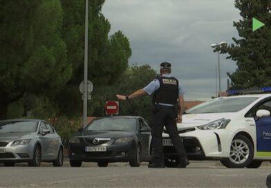 Campanya de controls a vehicles per conscienciar sobre l'ús del cinturó i el casc a Mollet
