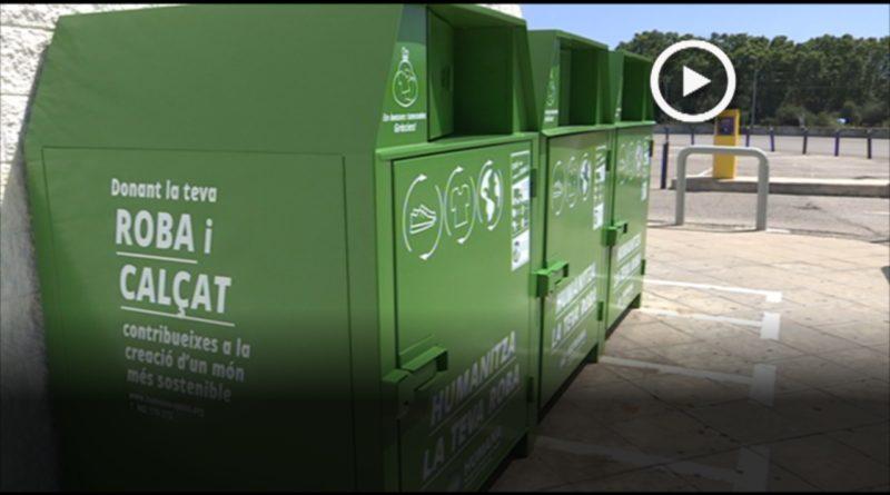 La Fundació Humana recull 18 tones de roba a Mollet amb l'objectiu de donar-li un segon ús