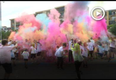 150 persones participen en la primera Gegant Holi Run a Montornès
